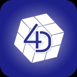4DMEDIAPLAYERのアプリアイコン